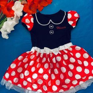 Minnie dress. Disney Toddler dress. Disney dress.